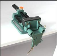 Free shipping of 1PC full Aluminum made quick release clamp vise bench vise with fix frame for DIY working utility