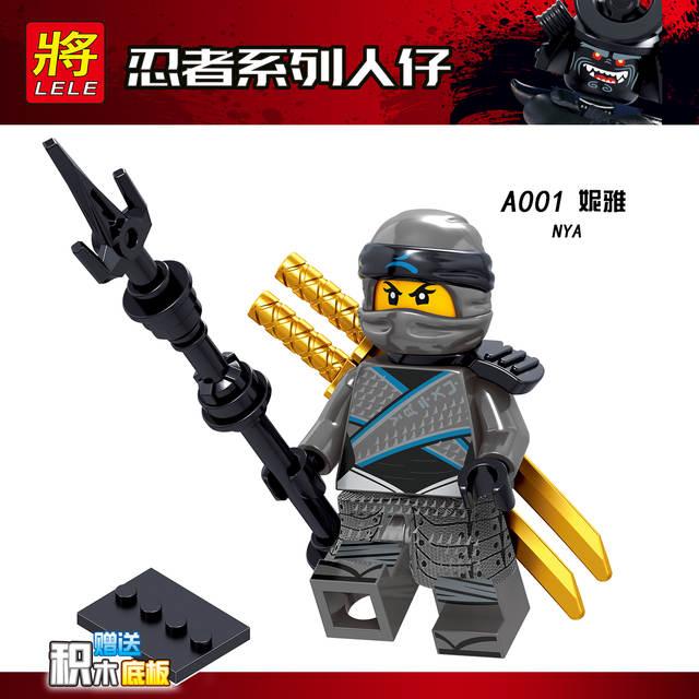 2018 Kai Jouets X D'action Jay Samouraï Nya Nouveaux Pour Ninjago Blocs Figurines Legoing Zane Harumi Enfants De Cole Yb6Iyvf7g