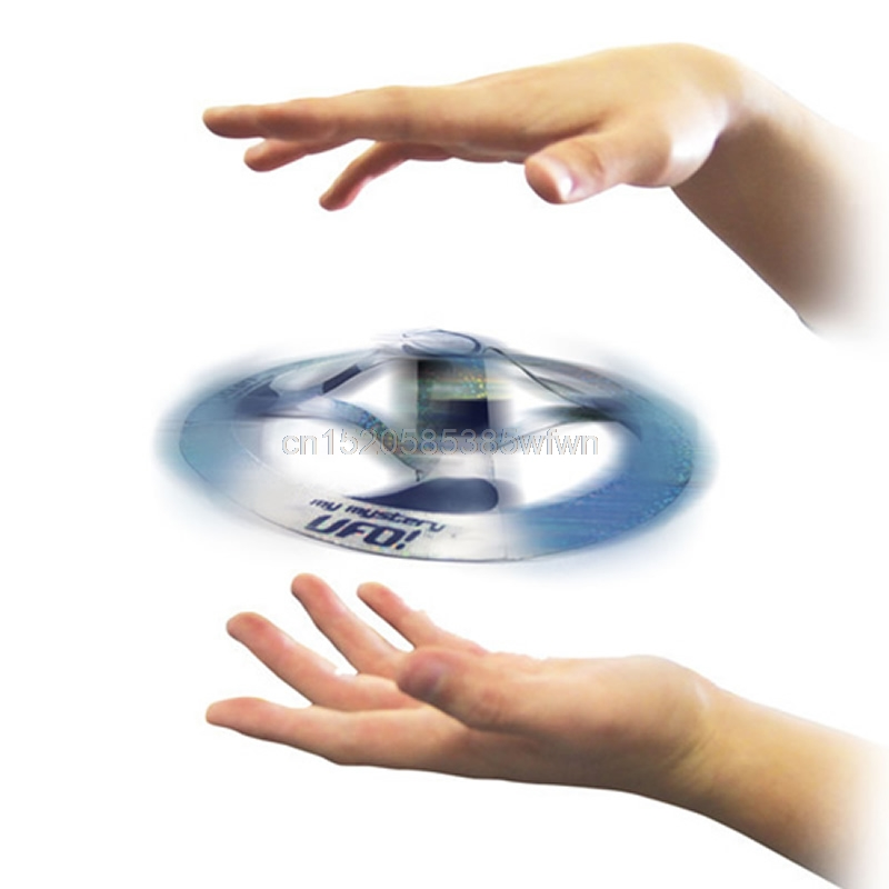 Kid Amazing Mystery UFO Floating Flying Disk Saucer Magic Cool Trick Toy #HC6U# Drop shipping