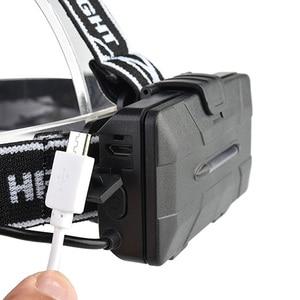Image 4 - ZK20 גבוהה Lumens LED פנס פנס 4T6 2COB ראש מנורת פנס Inductive Motion חיישן פנס קמפינג דייג חיצוני