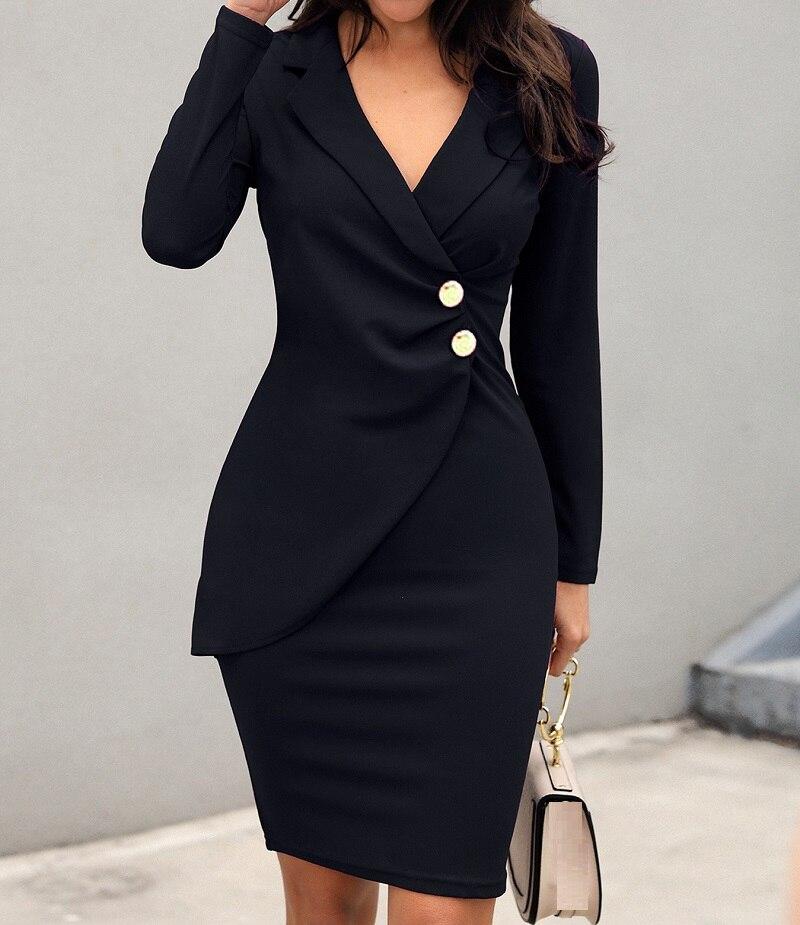 Mujeres fruncido largo de manga de diseño de botones bodycon blazer sukienka vestido de negro, púrpura vestido de negocios para las mujeres Oficina 2019 vestidos StrollGirl brillante Murano cuentas de cristal púrpura 925 encantos de plata ajuste original pulsera de pandora diy joyería que hace regalos para mujeres