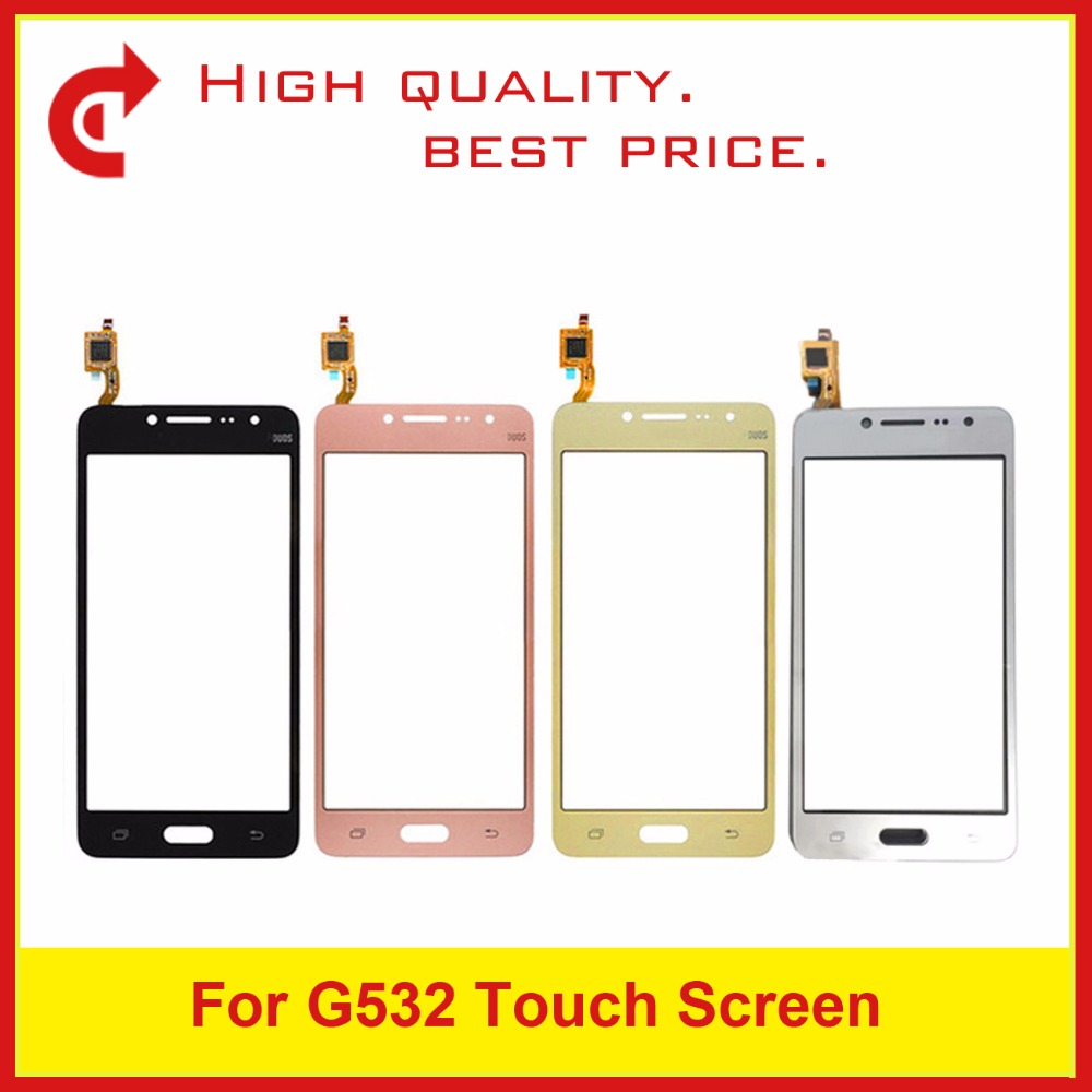 "10Pcs/lot High Quality 5.0"" For Samsung Galaxy J2 Prime SM-G532F G532 Digitizer Touch Screen Panel Sensor Outer Glass Lens"