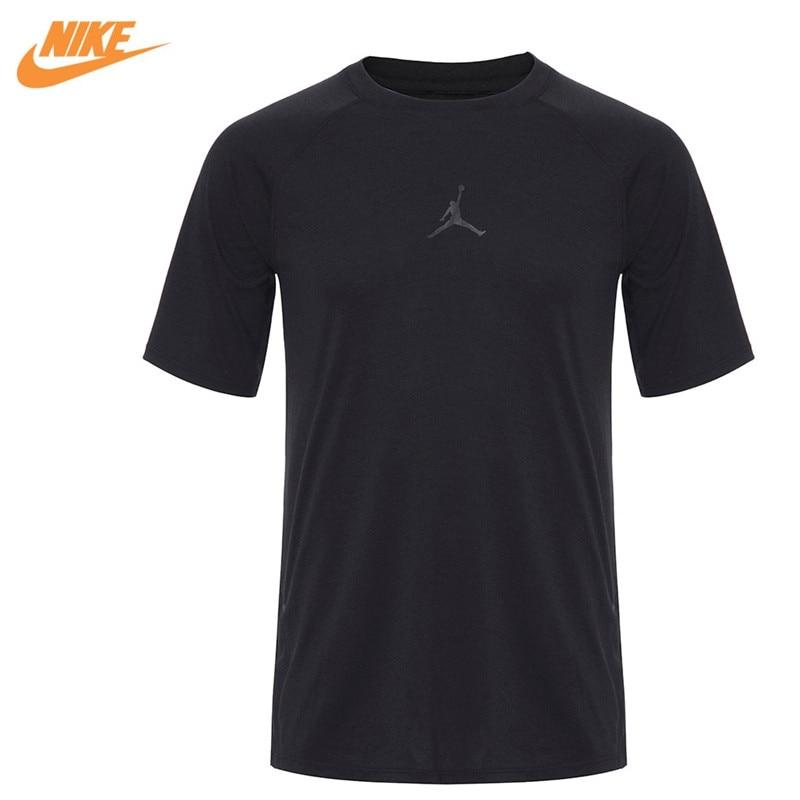 Nike Original New Arrival Official AS 23 TECH COOL SS TOP Men's T-shirts short sleeve Sportswear 833785-010 цена
