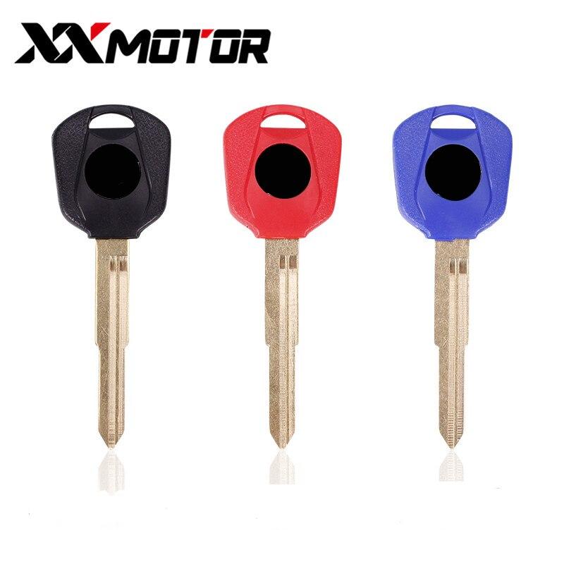 Motorcycle Accessory Blank Keys Uncut Blade For Honda CB600 CB800 CB1300 CBR600RR CBR893 CBR929 CBR1000RR CBR900RR CBR1100XX
