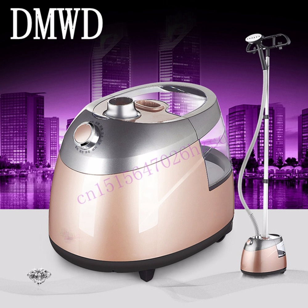 DMWD Ironing machine  for ironing clothes household steam iron 2000W piano paint 10 degrees 2.5L 1.6m