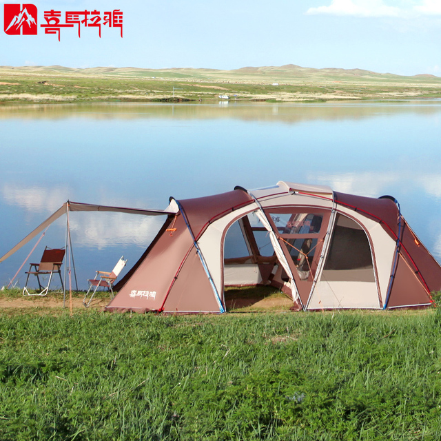 HIMALAYA Family C&ing Tent 8 Persons Multiplayer Anti rainstorm Travelling by car Waterproof Ripstop for C&ing & HIMALAYA Family Camping Tent 8 Persons Multiplayer Anti rainstorm ...