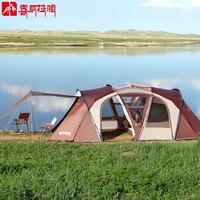 HIMALAYA Family Camping Tent 8 Persons Multiplayer Anti rainstorm Traveling Waterproof Ripstop Camping Hiking Tent