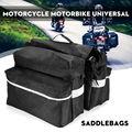 Водонепроницаемая сумка для седла Swingarm Saddle ATV мотоциклетная сторона 600D скутер изготовлен из прочной ткани Оксфорд хорошего качества