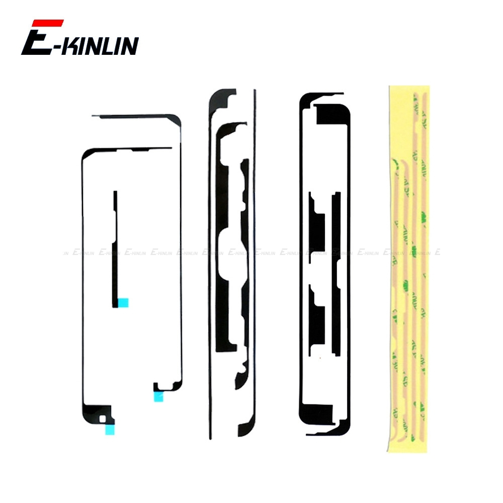 2set/lot 3M Adhesive Middle Frame Glue Sticker For IPad Air 2 2019 Mini 1 2 3 4 Touch Screen Digitizer Strip Tape