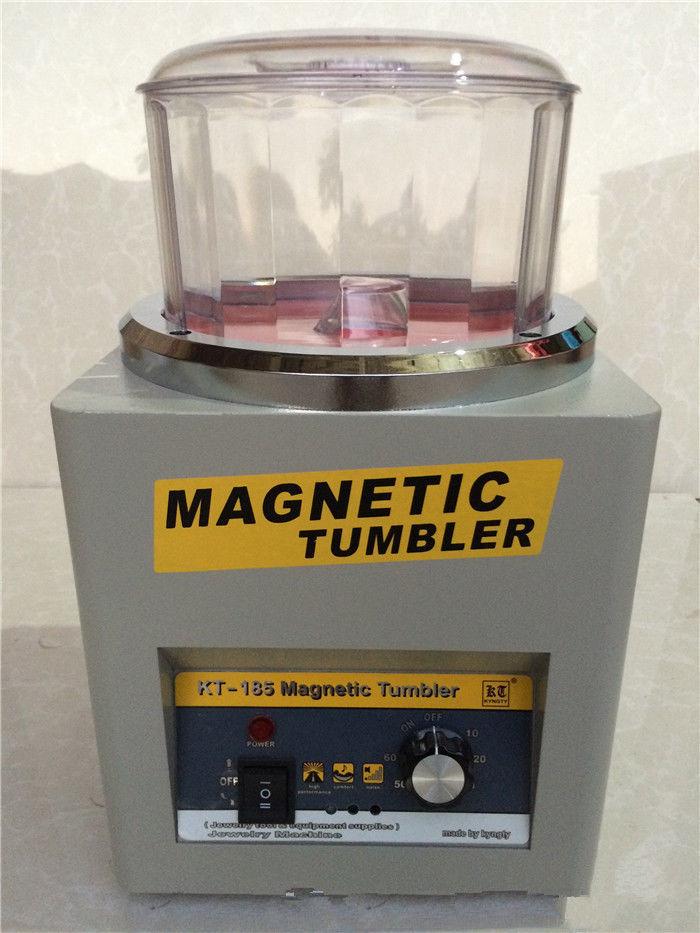 Mini Magnetic Tumbler 180mm Jewelry Polisher and Finisher Machine 110V/220VMini Magnetic Tumbler 180mm Jewelry Polisher and Finisher Machine 110V/220V
