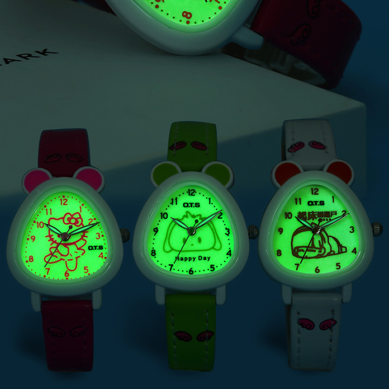OTS Children Watches Fashion Casual Quartz Wristwatches 30M Waterproof Jelly Cartoon Kids Clock Boys Hours Girls Students Watch fashion casual children watches analog quartz watch waterproof jelly kids clock boys girls hours students wristwatch
