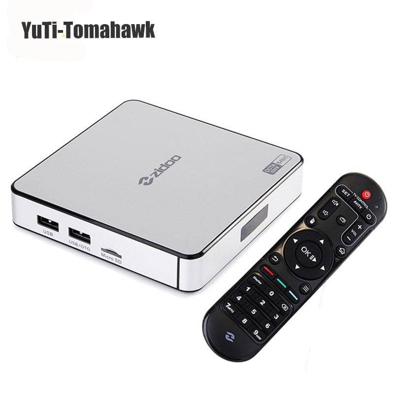 ZIDOO X6 PRO Mini pc Android 5.1 TV Box RK3368 Octa Core 2GB 16GB Gigabit Ethernet HDMI 4K KODI 16.0 Aluminium Eurpean IPTV BOX zidoo x6 pro android 5 1 lollipop octa core tv box rk3368 2gb 16gb 1000m lan dual band wif bt4 0 4k 2k h 265 kodi 3d