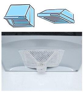 Image 4 - 10 חבילות 46X32cm ספיגת נייר אנטי שמן אוניברסלי שאינו ארוג אנטי שמן כותנה מסנני סיר הוד Extractor מאוורר מסנן