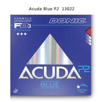 New original Donic Table Tennis Rubbers Donic Acuda Blue P1 P2 P3 Pimples In BLUE SPONGE rubbers MAX - DISCOUNT ITEM  10% OFF Sports & Entertainment
