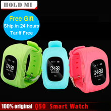 Анти потерял Q50 OLED ребенок GPS трекер SOS Smart мониторинга позиционирования телефон дети GPS часы совместимы IOS и Android VS Xiaomi