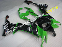 Hot Sales,Black Green For Kawasaki ZX 10R Fairing 08 10 ZX10R 2008 2009 2010 ZX10R ZX 10R Motorcycle Fairing (Injection molding)