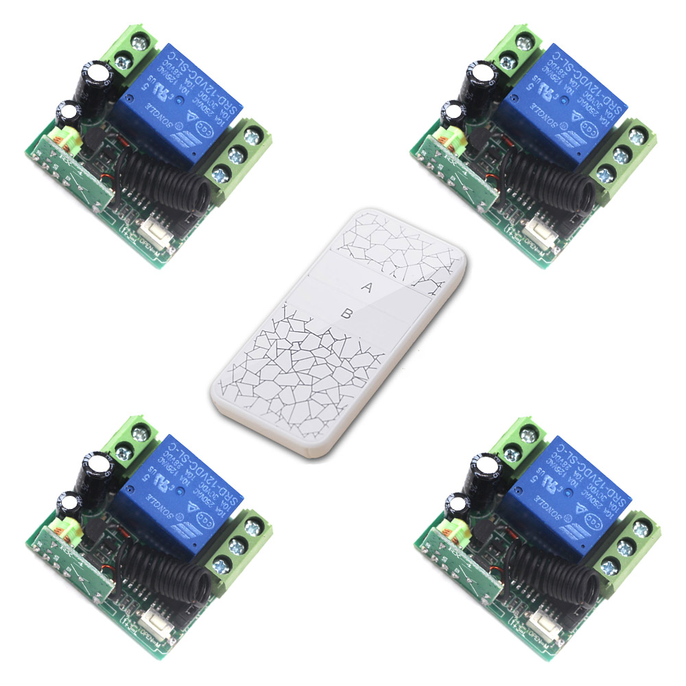 New Universal Wireless Remote Control Switch Mini DC12V 1CH Relay Receiver Module and RF Transmitter 315/433MHZ Remote Controls new arrival ac 110v 220v relay 1ch wireless remote control switch receiver module and rf remote controls 315 433mhz