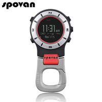 SPOVAN Brand Sports Watches For Men Women Watches Fashion Pocket Watch Waterproof LED Backlight Watch Clock