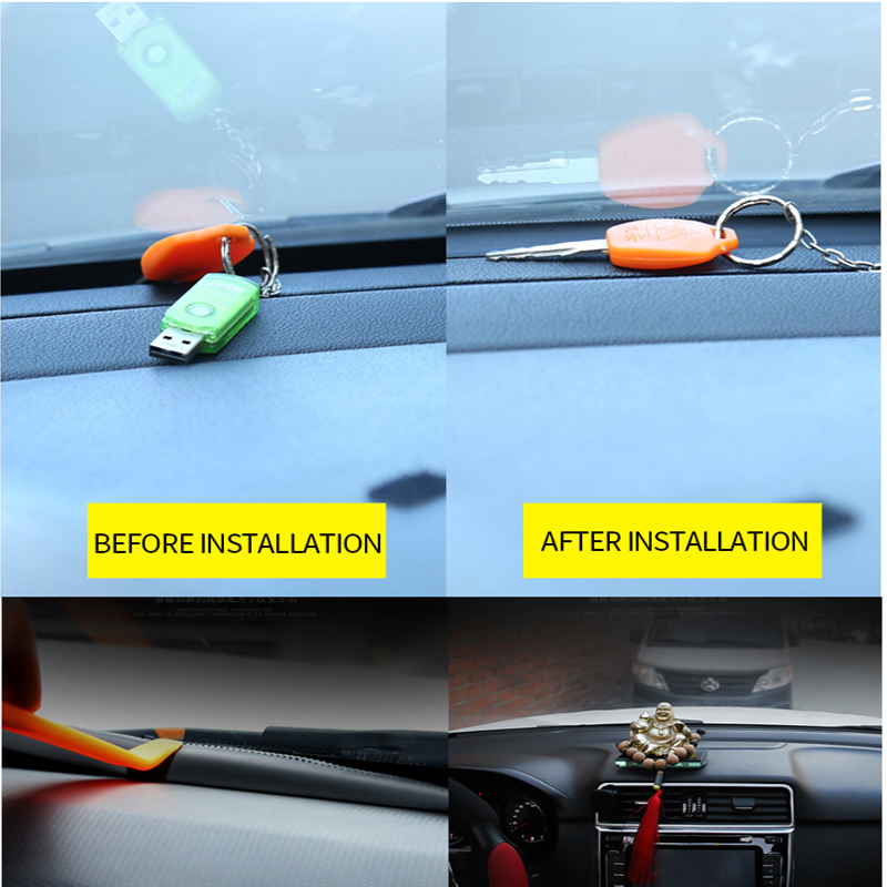 Image 5 - 1.6M Car Styling Dashboard Soundproof Seal Strip For Opel Astra H J G Insignia Mokka Corsa D Vectra C Zafira Meriva Infiniti q50-in Car Tax Disc Holders from Automobiles & Motorcycles