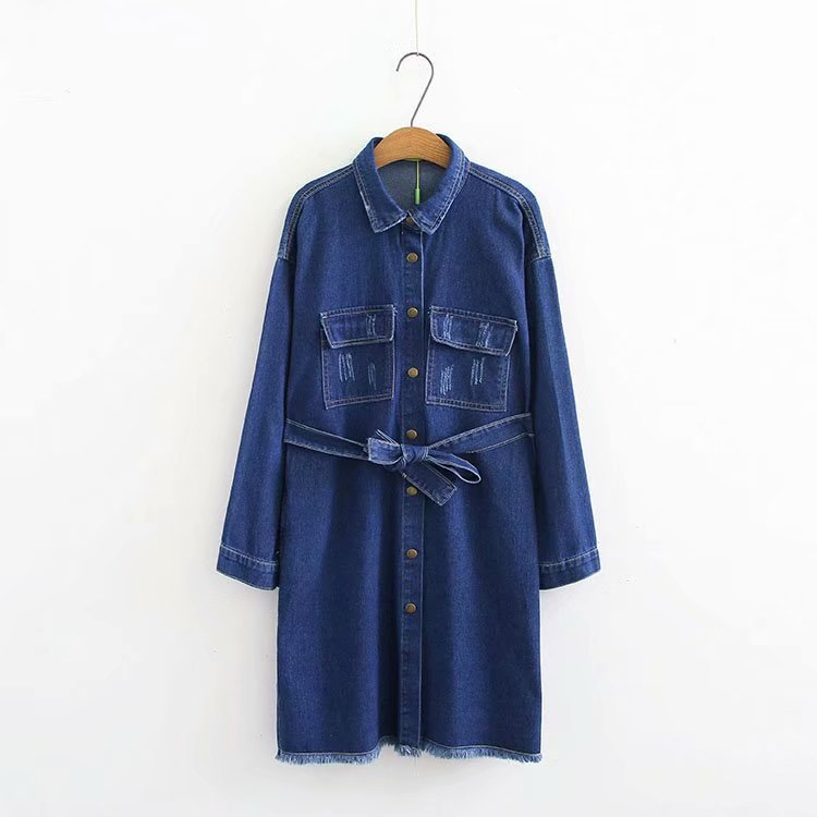 S72 Autumn Winter Casual Women Denim Jacket 5xl Plus Size Women Clothing Fashion Double Pocket Coats 7310 Cool In Summer And Warm In Winter