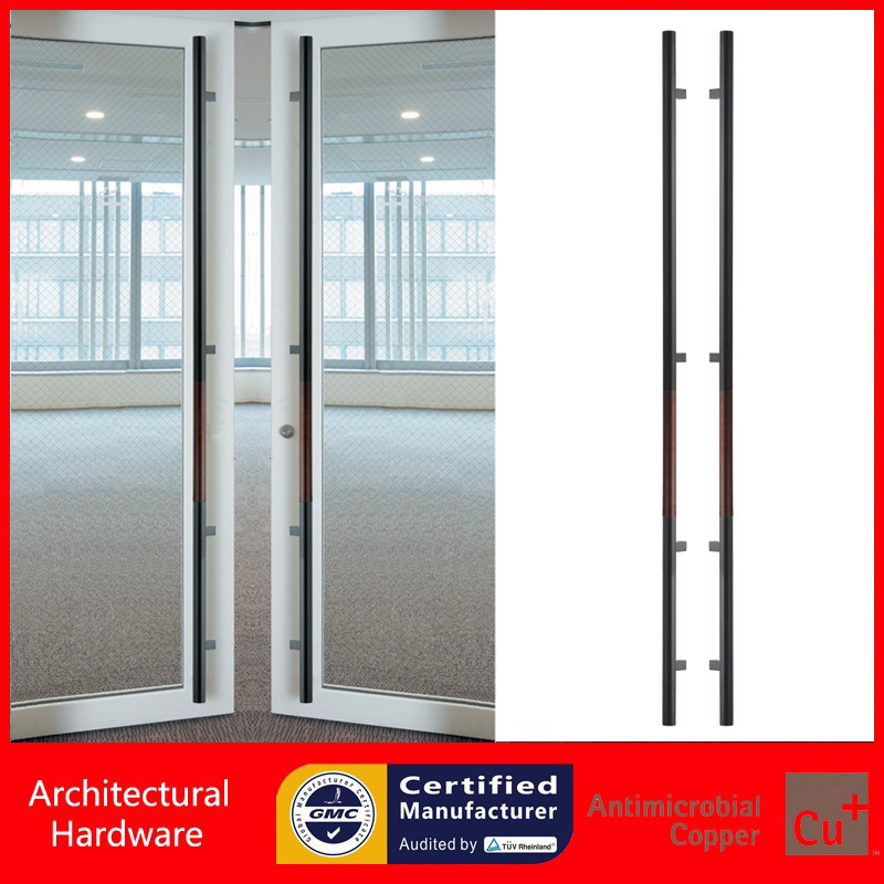 2000mm /79 inches Push-Pull Stainless Steel Door Handle for Entrance/Entry/Glass/Shop/Store PA-237 antimicrobial environmental wood pull handle pa 710 entrance door handles for entry glass shop store doors