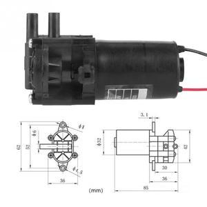 Image 5 - ZC A250 Ingranaggi Pompa Acqua DC24V Mini Auto Ingranaggio di Plastica Resistente Alla Corrosione autoadescante Pompa Acqua