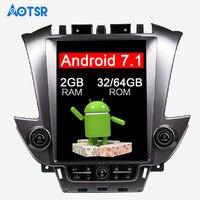 Тесла стиль android автомобильный Радио gps навигации для GMC Yukon Chevrolet Tahoe Suburban 2015 16 17 головное устройство мультимедийный магнитофон