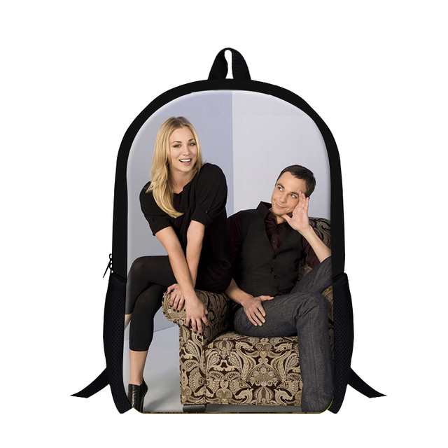 2015 american girl backpack the big bang theory school bags for teenagers girls,fashion bookbag backpack
