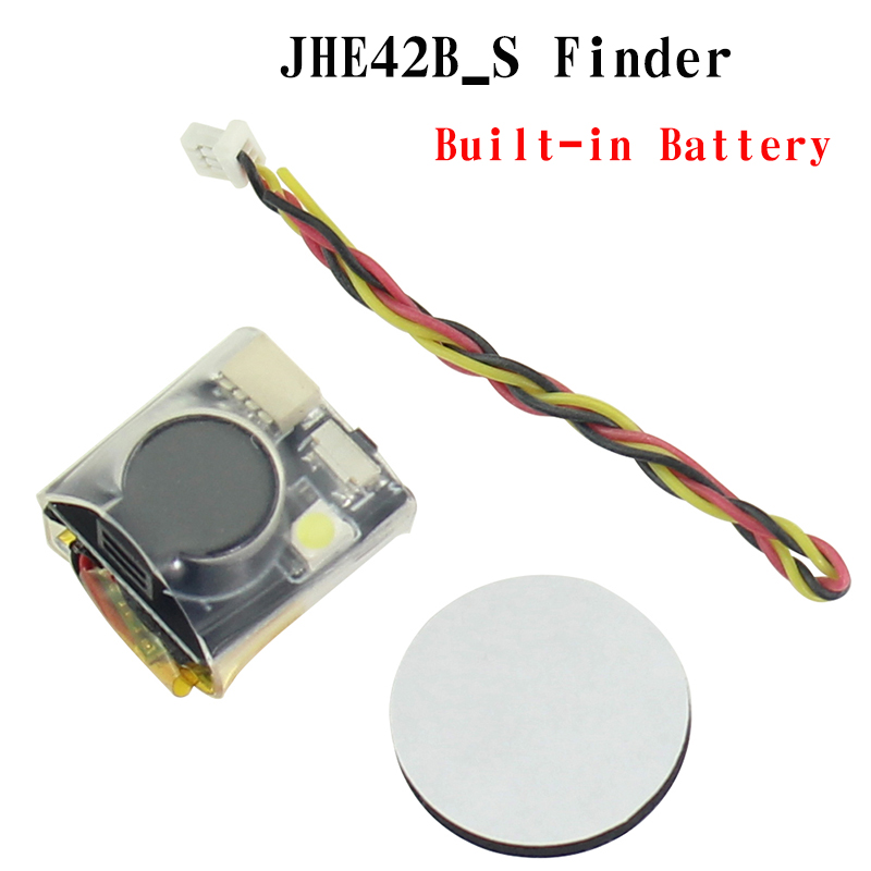 JHE42B_S Finder 5V Super Loud Buzzer Tracker 100dB Built-in Battery For Flight Controller RC Drone Multicopter Part Accs