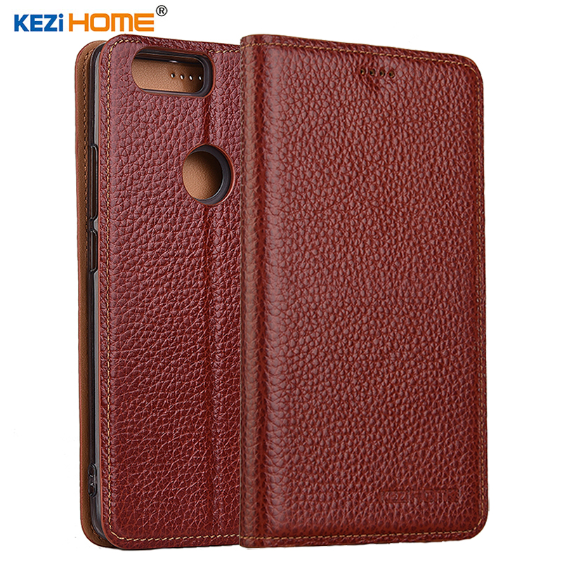 for Nubia Z17 case Flip genuine leather soft silicon back cover for ZTE Nubia Z17 lite coque