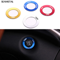 For Jeep Cherokee KL 2014 2015 2016 Car Lighter Trim Ring Stickers Chrome Decoration Auto Accessories Aluminium Car-styling