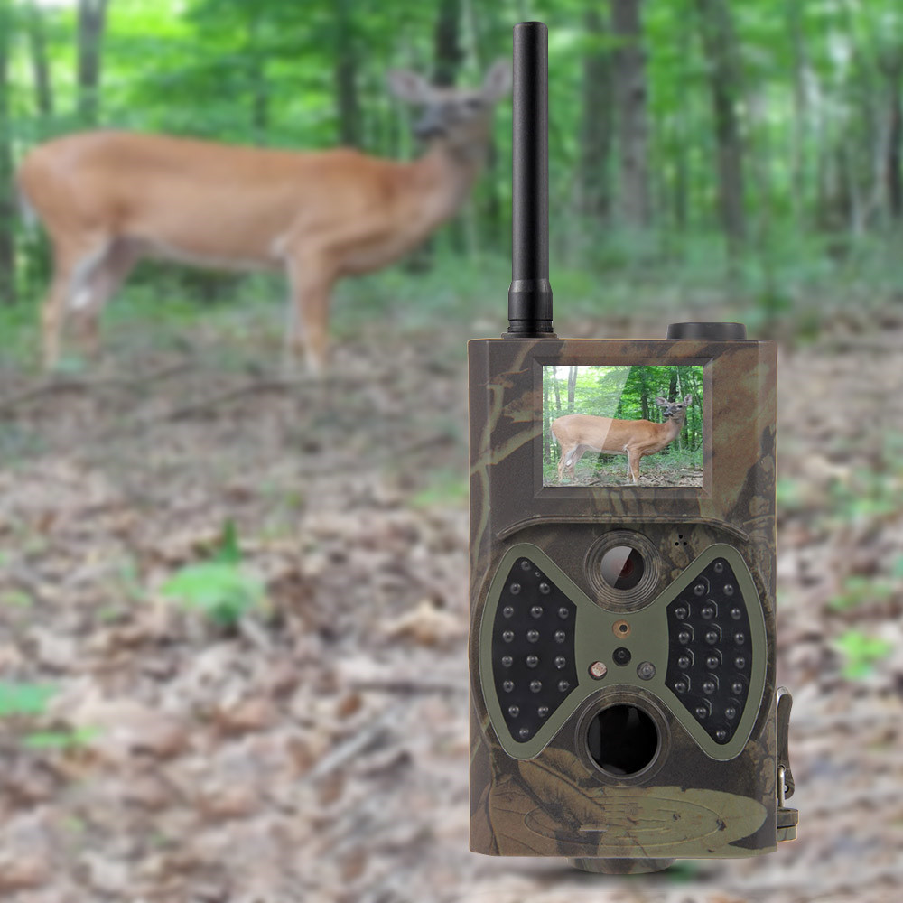 Scouting hunting camera HC-350M HD GPRS MMS Digital 940NM Infrared Trail Camera GSM scouting hunting camera hc300m hd gprs mms digital 940nm infrared trail camera gsm 2 0 lcd hunter cam drop shipping