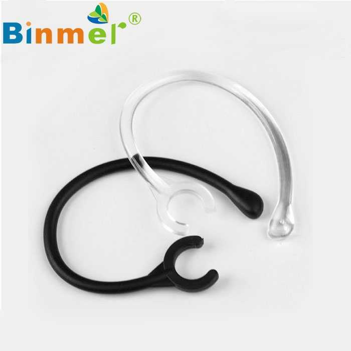Beautiful Gift New 6pc Ear Hook Loop Clip Replacement Bluetooth Repair Parts One size fits most 6mm  Jul22