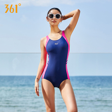 361 Women Sexy Swimwear Bandage Triangle Competition One Piece Sport Swimsuit Push Up Backless Pool Bathing Suit