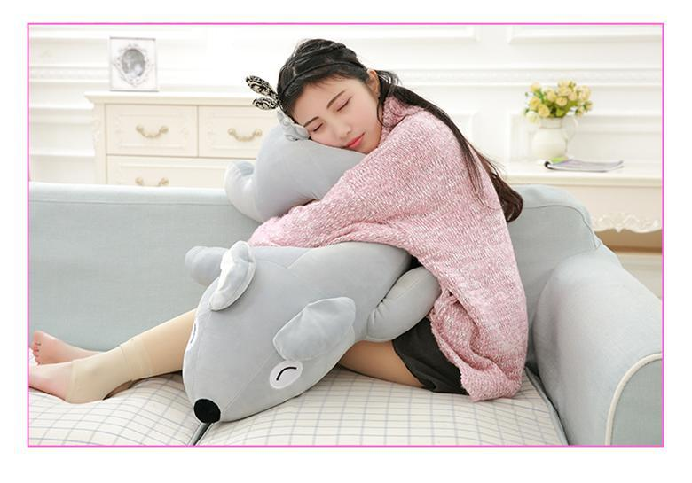 big plush koala bear toy cute lying koala doll pillow gift about 90cm super cute plush toy dog doll as a christmas gift for children s home decoration 20