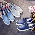 2015 estilo de primavera y verano zapatos de lona zapatos de plataforma zapatos de las mujeres mocasines resbalón en los zapatos casual zapatos de mujer mocassin