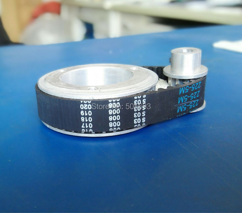 HTD5M timing pulley 39 teeth and 8 teeth ,15mm belt width and HTD5M timing round belt 225mm belt length sell by one pack