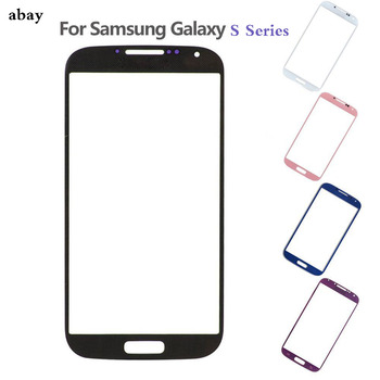For Samsung Galaxy S3 S4 S5 i9300 i9500 i9600 Note 2 Front Panel Lens Outer Glass LCD Display Replacement image