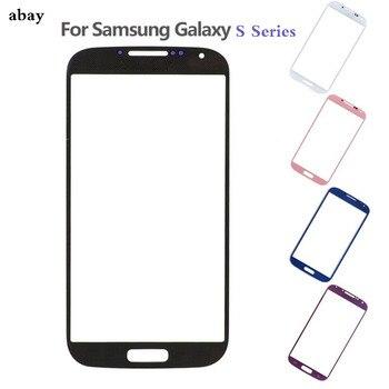 Para Samsung Galaxy S3, S4 y S5 i9300 i9500 i9600 nota 2 Front Panel vidrio exterior de la lente reemplazo de la pantalla LCD