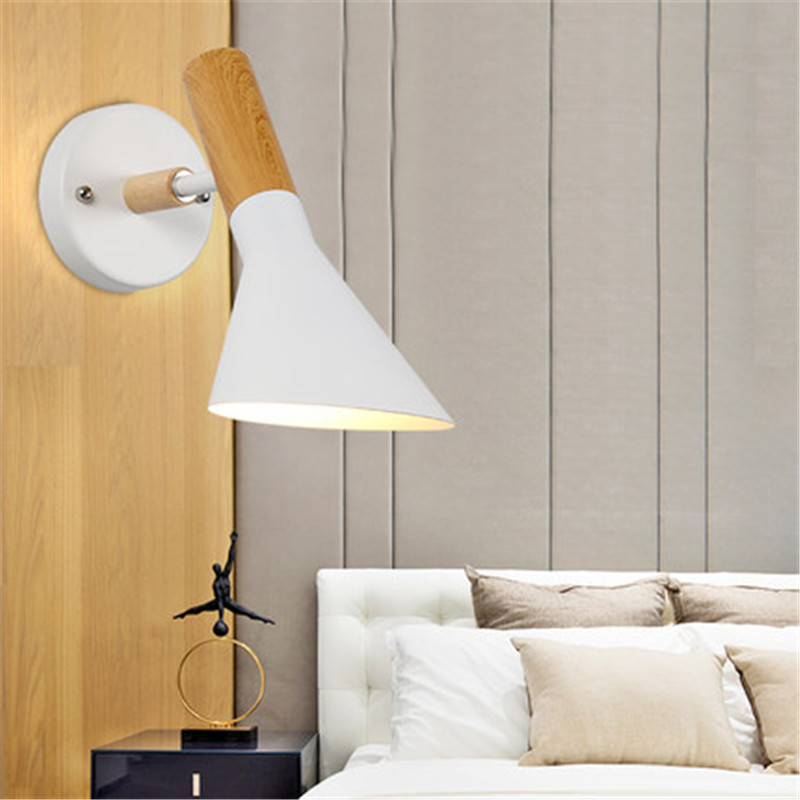 Creative Loft Style Iron Adjust Wall Sconces Modern LED Wall Light Fixtures Bedroom Bedside Wall Lamp Decorate Indoor Lighting bammax fishing lure 1 box metal iron hard bait sequins shore jigging spoon lures fishing connector pin fishing accessories pesca