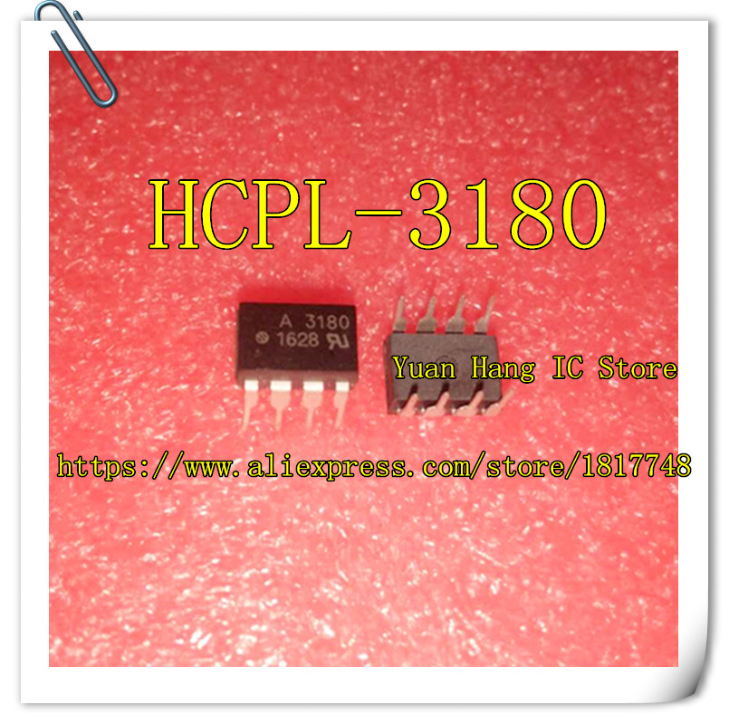 Free Shipping 10pcs/lot HCPL-3180 HCPL3180 MARKING A3180 3180 DIP8 IN STOCK AVAGO IC 10pcs lot new in stock prme15138