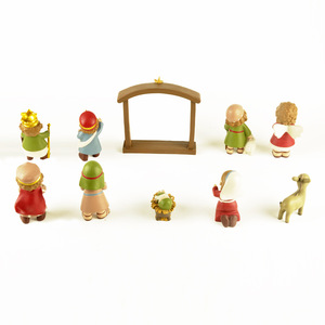 Image 5 - キリスト降誕のカントリー装飾装飾ギフトクリスチャンイエス装飾慈悲イエス