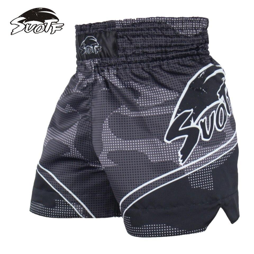 SUOTF MMA Tiger Muay Thai boxe match de boxe Sanda formation respirant shorts muay thai vêtements de boxe mma Tiger Muay Thai