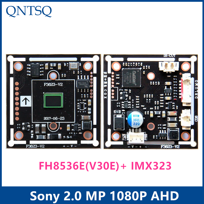 AHD 2.0MP 1920x1080P 1/2.9 CMOS FH8536E(V30E)+IMX323 Sony chipset DSP CCTV camera module board,chip board chipset eb 3631 gps engine board module with sirf star iii chipset
