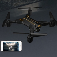 KY601 Foldable 4 Axis Headless RC Drone Camera 720P 2MP WiFi Altitude Hold Remote RC Quadcopter Drone UAV