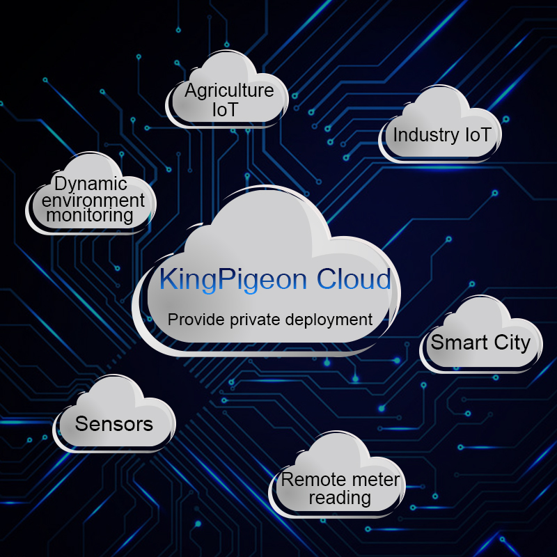 Industrial IOT Cloud Platform Server Support APP Web Remote Monitoring& Control Supports OEM Customized Interface Logo V3.0