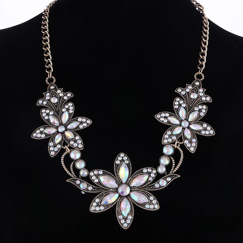19 Fashion Designer Chain Choker Statement Necklace Women Necklace Bib Necklaces & Pendants Gold Silver Chain Vintage Jewelry 28