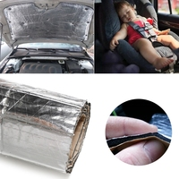 Auto   Roof Heat Shield Foil Car Sound Isolation Deadener Noise For Cover (Cover) Fender Pillar Firewall -M