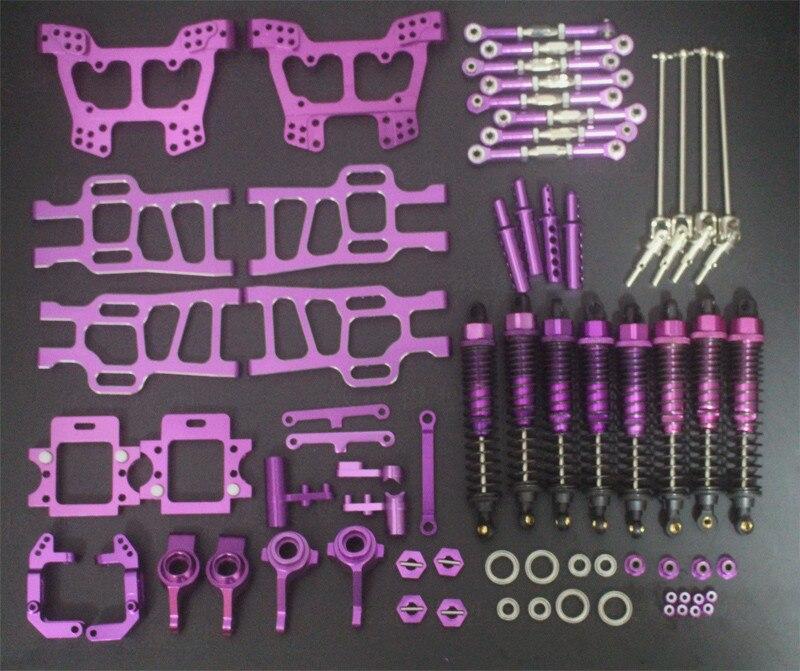 HSP 1:10 Bigfoot Elettrico 94111/94108 All Metallo Veicolo Kit di Aggiornamento Pezzi di Ricambio - 3