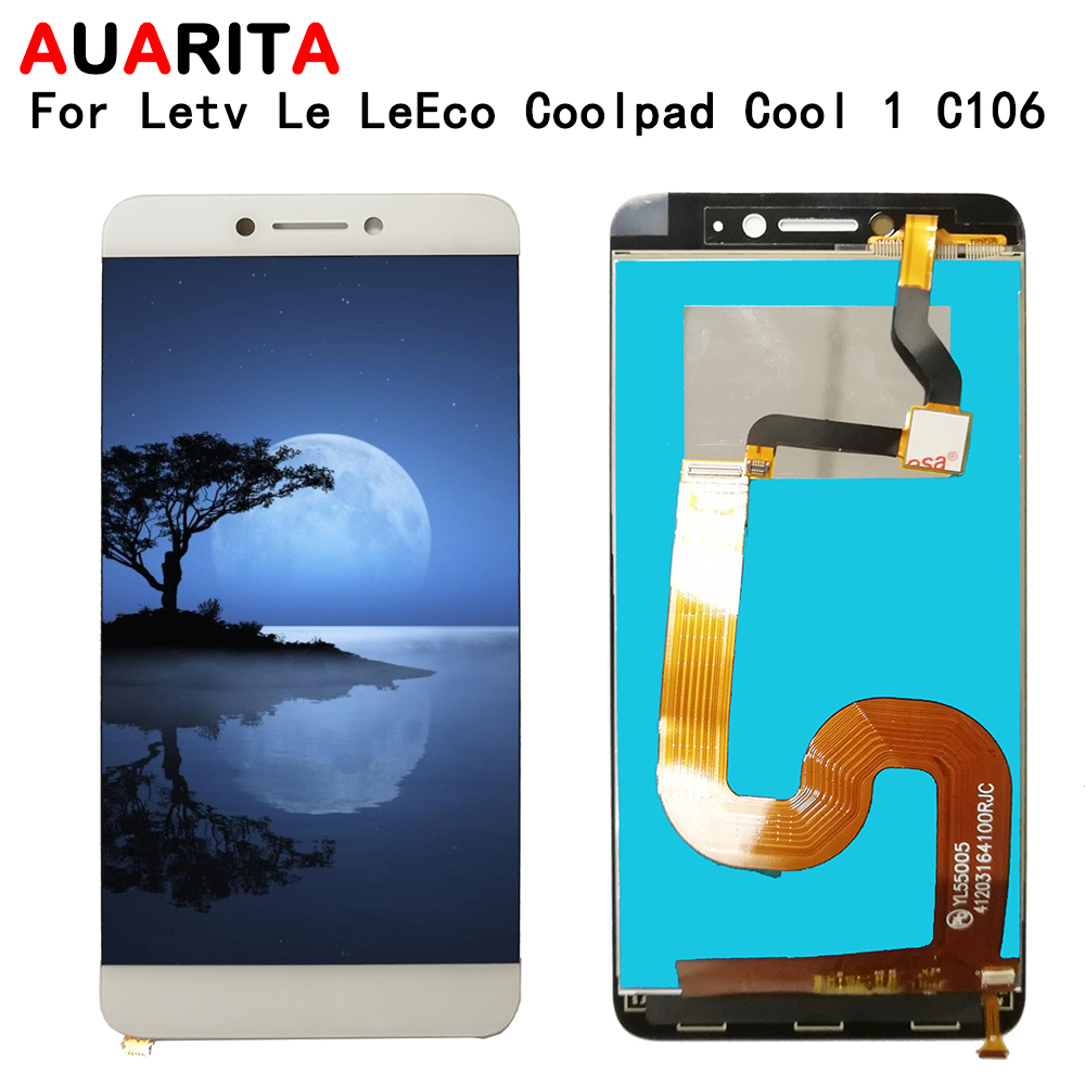 LCD For Letv Le <font><b>LeEco</b></font> Coolpad <font><b>Cool</b></font> <font><b>1</b></font> Dual C106 LCD <font><b>Display</b></font> Touch panel glass Screen Digitizer assembly Phone Parts LCD <font><b>Display</b></font> image